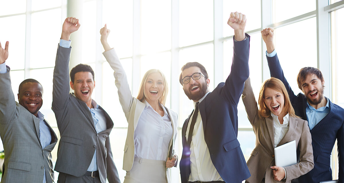 success celebration mach1design digital marketing agency
